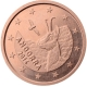 Andorra 1 Cent Coin 2014 - © European Central Bank