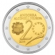 Andorra 2 Euro Coin - 20 Years in the Council of Europe 2014 - © Michail