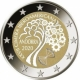 Andorra 2 Euro Coin - 27th Ibero-American Summit in Andorra 2020 - Proof - © European Union 1998–2020