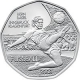 Austria 5 Euro silver coin XIII. European Football Championship 2 - Striker 2008 - in blister - © Humandus