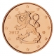 Finland 5 Cent Coin 2012 - © Michail