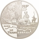 France 1 1/2 (1,50) Euro silver coin Round-the-world trips - Trans-Siberian Railway 2004 - © NumisCorner.com
