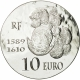 France 10 Euro Silver Coin - 1500 Years of French History - Henri IV the Great 2013 - © NumisCorner.com