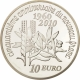 France 10 Euro Silver Coin - The Sower - 50 Years of the New Franc 2010 - © NumisCorner.com