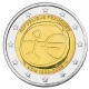 France 2 Euro Coin - 10 Years Euro - WWU - UEM 2009 - © Michail