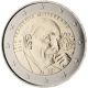 France 2 Euro Coin - 100th Anniversary of the Birth of François Mitterrand 2016 - © European Central Bank
