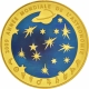 France 200 Euro gold coin Astronomy - 40 years landing on the moon 2009 - © NumisCorner.com