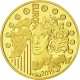 France 5 Euro Gold Coin - Europa Series - Europa Star Programme - 70 Years of Peace in Europe 2015 - © NumisCorner.com