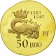 France 50 Euro Gold Coin - 1500 Years of French History - François I 2013 - © NumisCorner.com
