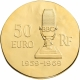 France 50 Euro Gold Coin - French History - Charles de Gaulle 2015 - © NumisCorner.com