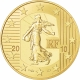 France 50 Euro Gold Coin - The Sower - 50 Years of the New Franc 2010 - © NumisCorner.com