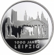 Germany 10 Euro Commemorative Coin - 1000 Years of Leipzig 2015 - Brilliant Uncirculated - © Zafira