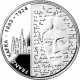 Germany 10 Euro silver coin 125. birthday of Franz Kafka 2008 - Brilliant Uncirculated - © Zafira