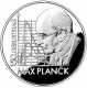 Germany 10 Euro silver coin 150. birthday of Max Planck 2008 - Brilliant Uncirculated - © Zafira