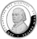 Germany 10 Euro silver coin 200. birthday of Eduard Mörike 2004 - Brilliant Uncirculated - © Zafira