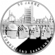 Germany 10 Euro silver coin 50 years State of Saarland 2007 - Brilliant Uncirculated - © Zafira