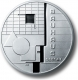 Germany 10 Euro silver coin Bauhaus Dessau 2004 - Brilliant Uncirculated - © Zafira