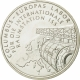 Germany 10 Euro silver coin Columbus - European Laboratory for the International Space Station ISS 2004 - Brilliant Uncirculated - © NumisCorner.com