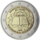 Germany 2 Euro Coin 2007 - 50 Years Treaty of Rome - D - Munich - © European Central Bank
