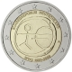 Germany 2 Euro Coin 2009 - 10 Years Euro - WWU - A - Berlin - © European Central Bank