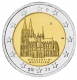 Germany 2 Euro Coin 2011 - North Rhine Westphalia - Cologne Cathedral - D - Munich - © Michail