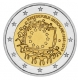 Germany 2 Euro Coin 2015 - 30th Anniversary of the European Flag - D - Munich Mint - © Michail