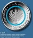 Germany 5 Euro Commemorative Coin - Climate Zones of the Earth - Subpolar Zone 2020 - J - Hamburg Mint - Proof