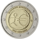 Greece 2 Euro Coin - 10 Years Euro - WWU - ONE 2009 - © European Central Bank