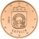 Latvia 2 Cent Coin 2016 - © Michail