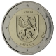 Latvia 2 Euro Coin - Regions Series - Latgale 2017 - © European Central Bank