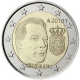 Luxembourg 2 Euro Coin - Coat of Arms of The Grand Duke Henri 2010 - © European Central Bank
