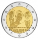 Luxembourg 2 Euro Coin - Royal Wedding Guillaume and Stephanie 2012 - © Michail
