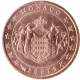 Monaco 1 Cent Coin 2001 - © European Central Bank