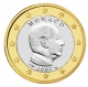 Monaco 1 Euro Coin 2007 with mintmark next to the year of manufacture - © Michail
