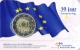 Netherlands 2 Euro Coin - 30th Anniversary of the EU Flag 2015 - Coincard - © Zafira
