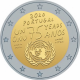 Portugal 2 Euro Coin - 75 Years United Nations 2020 - © Michail