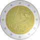 Portugal 2 Euro Coin - Participation in the Olympic Games in Tokyo 2021 - Proof - © Michail