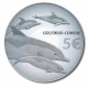 Portugal 5 Euro Silver Coin - Endangered Species - The Dolphin 2020 - Proof - © Michail