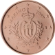 San Marino 1 Cent Coin 2017 - © European-Central-Bank