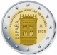 Spain 2 Euro Coin - UNESCO World Heritage Site - Mudejar architecture of Aragon 2020  - © European Union 1998–2020