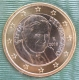 Vatican 1 Euro Coin 2010 - © eurocollection.co.uk