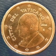 Vatican 5 Cent Coin 2014 - © eurocollection.co.uk