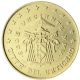 Vatican 50 Cent Coin 2005 - Sede Vacante MMV - © European Central Bank