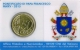 Vatican Euro Coins Stamp+Coincard - Pontificate of Pope Francis - No. 7 - 2015 - © Zafira