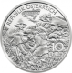 Austria 10 Euro silver coin Tales and legends in Austria - Charlemagne in the Untersberg 2010 - Proof - © Humandus