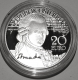 Austria 20 Euro Silver Coin - Mozart - The Genius 2016 - Proof - © Coinf