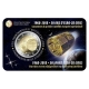 Belgium 2 Euro Coin - 50 Years Since the Launch of European Satellite ESRO 2B - IRIS 2018 in Coincard - French Version - © Holland-Coin-Card