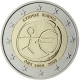 Cyprus 2 Euro Coin - 10 Years Euro - WWU - EMU 2009 - © European Central Bank