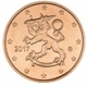 Finland 1 Cent Coin 2017 - © Michail