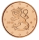 Finland 1 cent coin 2010 - © Michail
